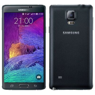 Samsung Galaxy Note 4 N910 UNLOCKED, Verizon AT&T T-Mobile, 4G Smartphone -Black