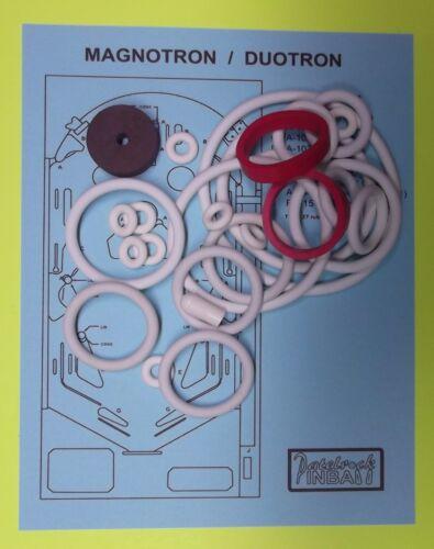 Duotron pinball super kit 1974 Gottlieb Magnotron