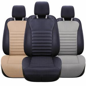 universal auto lkw sitzauflage pu leder sitzbez ge sitzkissen sitzmatte schutz ebay. Black Bedroom Furniture Sets. Home Design Ideas
