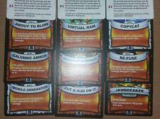Full Set of 75 Skylanders Battlecast Rare Cards NO DOUBLES!!! Set 2 of 4