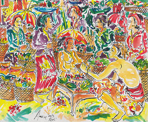 Hand-painting-Abstract-Market-Scene-272