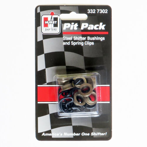 Hurst 3327302 Pit Pack Competition Plus4 Speed Clips /& Steel Bushings 7 per set