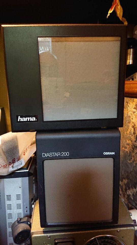 Diasskærm, Hama / Osram, 200