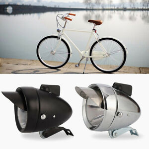 Velo-Bicyclette-Lampe-de-tete-Retro-Vintage-Conception-Shark-Fin-Brouillard-Spot
