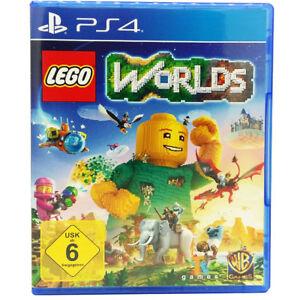 Sony Playstation PS4 LEGO Worlds Videospiel NEU OVP dt. Version USK6