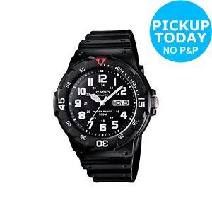 Casio-Men-039-s-Diver-Style-Watch-Black