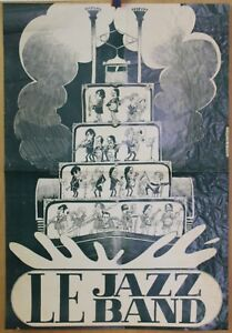 Grande-Affiche-Originale-1975-LE-JAZZ-BAND