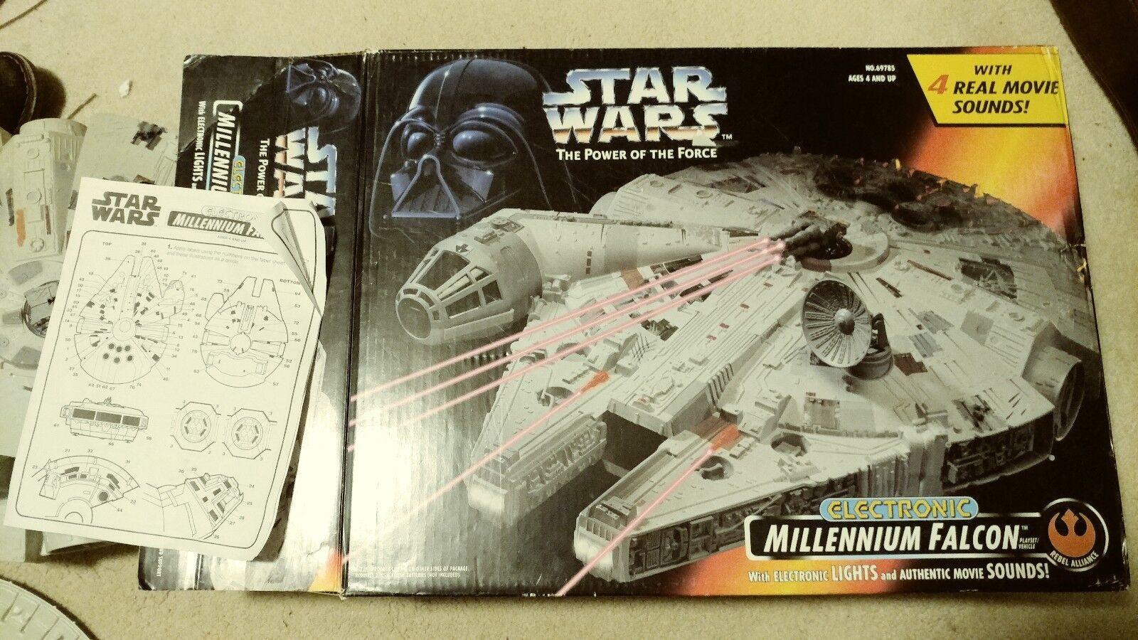 Star Wars Original 1995 Electronic Millennium Falcon