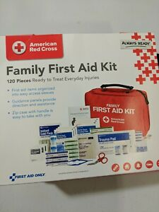 American Red Cross Family First Aid Kit, 120 Pieces, Everyday Injuries Free Ship