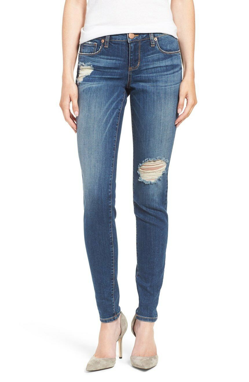 STS bluee 1618 Womens Piper Distressed Skinny Jeans Sz 29