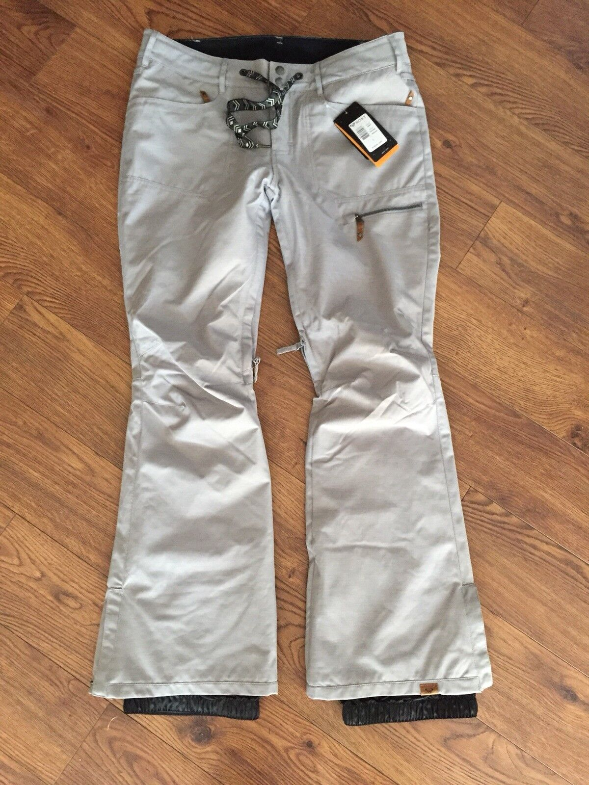 Roxy Insulated Snow Pants Snowboard Ski L