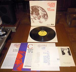 LP GEN ROSSO Chante le vrai (N. Cité 73 FRANCE) xian beat poster 6 inserts VG+