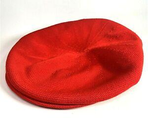Kangol-Classic-Tropic-504-Cap-Ventair-Hat-Red-Black-Logo-Large