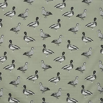 Prestigious Duck Stone Grey Mallard 100/% Cotton Fabric Curtain Craft Material