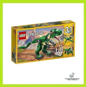 LEGO-Creator-3-in-1-Mighty-Dinosaurs-31058-Playset-Toy