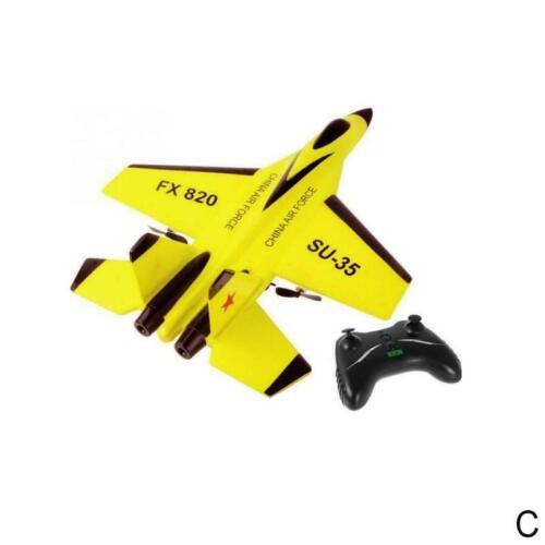FX-820 2.4G 2CH SU-35 Glider Wingspan EPP RC Airplane RTF Plane UAV Xmas Gift