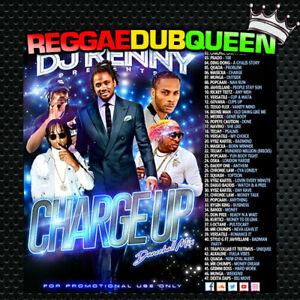 Details about DJ Kenny - Charge Up Dancehall Mix  Reggae Mix CD  August 2019