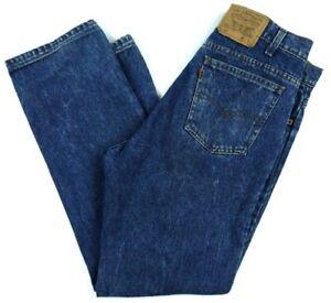 8fdbf835 VINTAGE 80s LEVIS 509-0218 dark blue jeans orange tab MADE IN USA ...