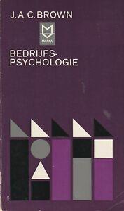 Bedrijfspsychologie J. A. C. Brown