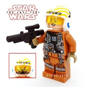 Lego Star Wars - The Last Jedi - Resistance Bomber Pilot *NEW* from set 75188
