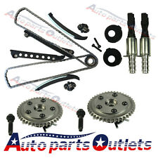 Fit Ford F-150 F-250 with Seal & Screw Timing Chain Kit Cam Phasers VVT Valves
