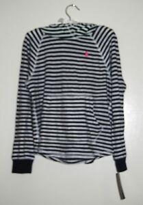 S 7 Ralph Lauren Girls Cotton Blue Sweatshirt Pullover Top