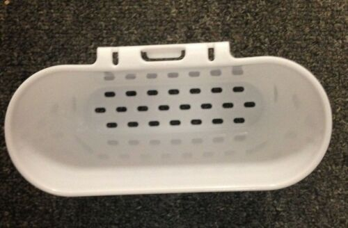 RUBBERMAID MICROBAN LARGE WHITE SINK DISH DRAINER STORAGE RACK /& UTENSIL CUP