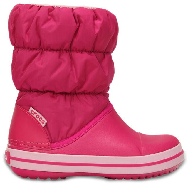 Crocs 3462 Girls Winter Puff Pink