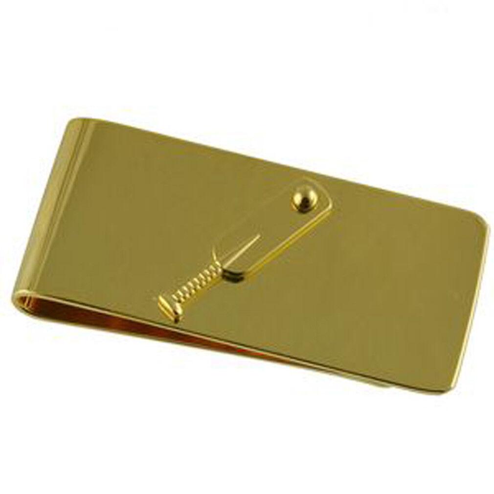 Cricket Fermasoldi oro oro oro Opzionale Inciso Scatola Personalizzata 118962