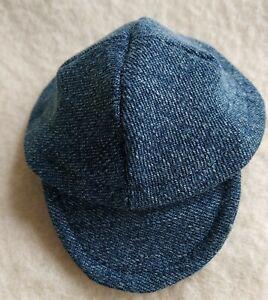 New-Schildcap-Jeans-Dark-For-Approx-11-12-5-8in-Bears-Handarbeit
