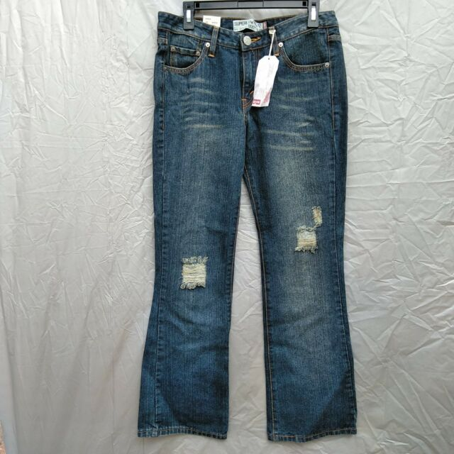 fafb054c Womens Jeans Size 11 Levis 518 Super Low Boot Cut for sale online | eBay
