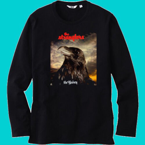 New The Stranglers The Raven Rock Band Mens Black Long Sleeve T-Shirt Size S-3XL