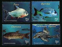 Peru 2017 Fische Fishes Poissons Pesci Meerestiere Postfrisch MNH