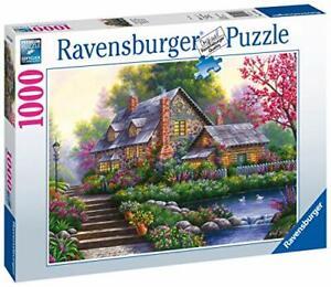 Ravensburger-Jigsaw-Puzzle-ROMANTIC-COTTAGE-1000-Piece