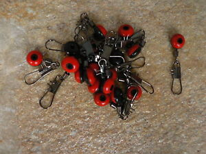 Posen-vertebras-adaptador-rapido-perla-laufwirbel-rojo-diverse-cantidades-nuevo