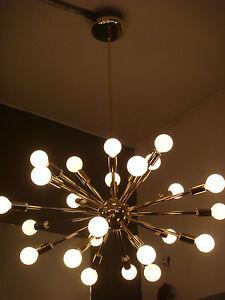 SPUTNIK-STARBURST-LIGHT-FIXTURE-CHANDELIER-LAMP-POLISHED-BRASS-MADE-IN-U-S-A