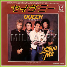 """QUEEN """"SAVE ME b/w SHEER HEART ATTACK"""" 7"""" JAPAN 45 RPM (NM)"""