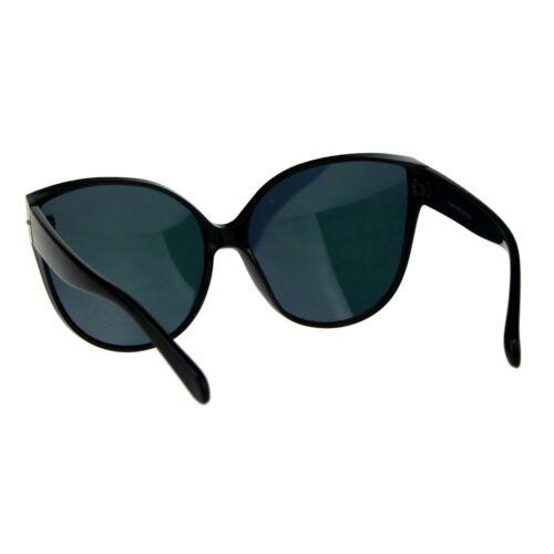 Oversized Butterfly Sunglasses Womens Designer Fashion Mirror Lens