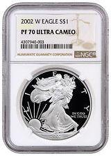 2002-W 1 oz. Proof American Silver Eagle NGC PF70 UC SKU16911