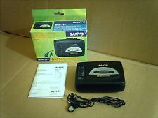 SANYO MGR-715 Walkman AM FM Radio Cassette Player