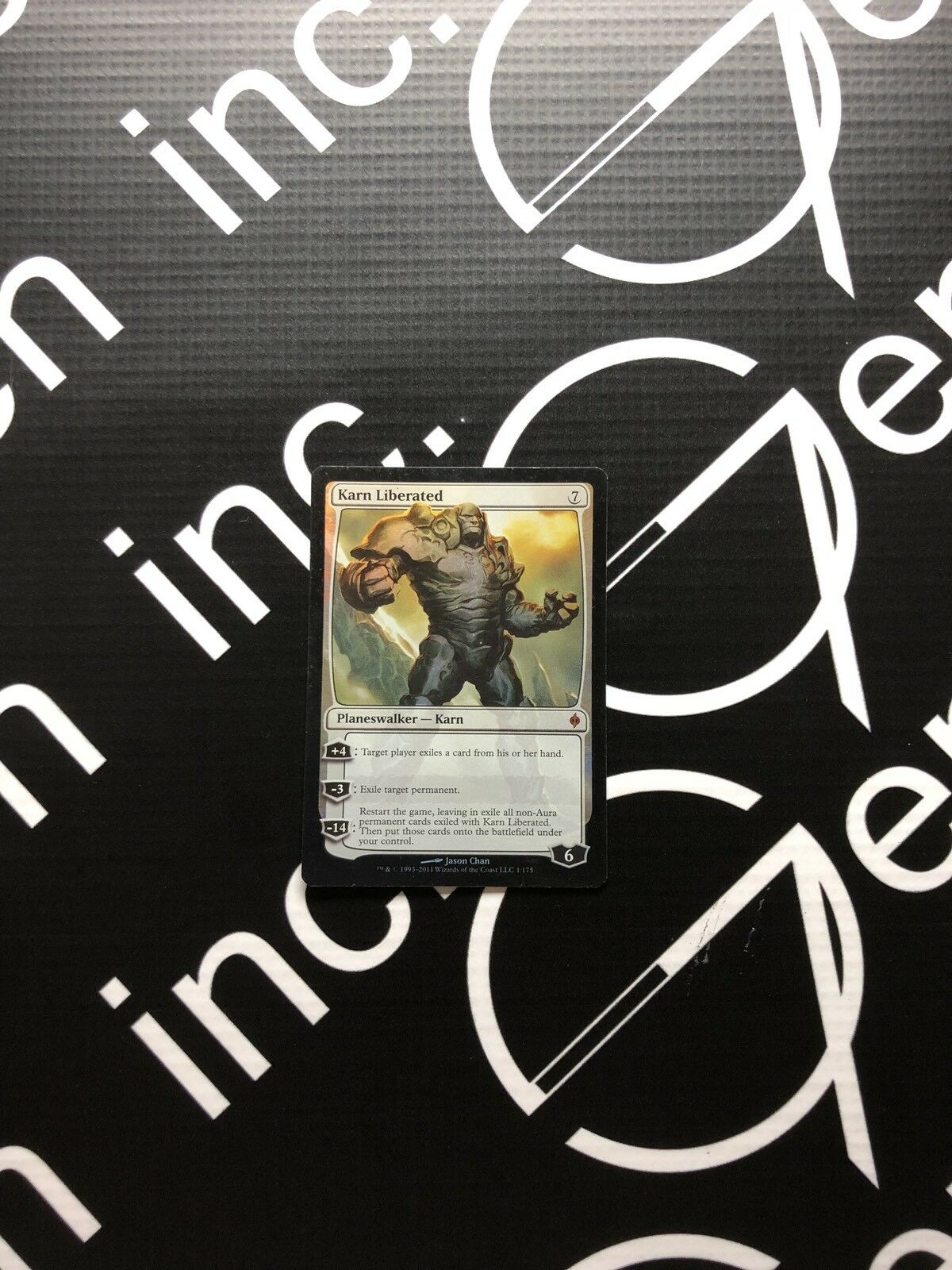 MTG Magic The The The Gathering Foil Karn Liberated New Phyrexia X 1 30ea9a