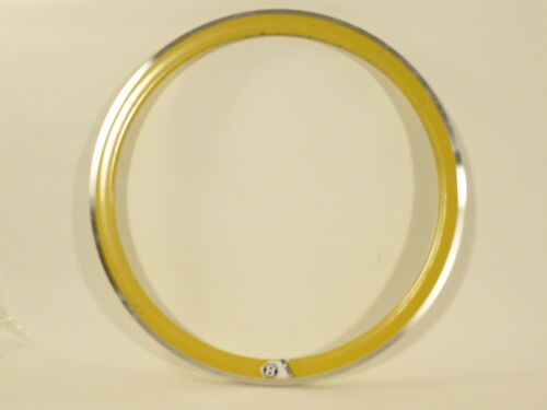 Origin8 Rim Trak Attak Deep-V Yellow 32 Hole 700c rim w//MSW Fixie Track  O8 22