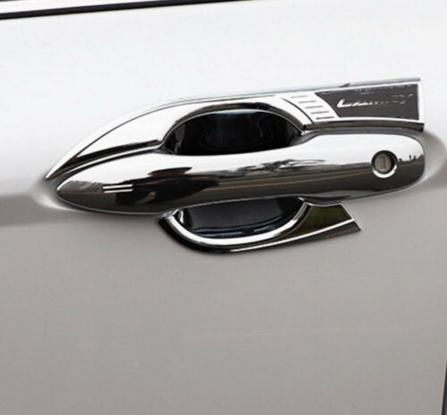 2018 Fit For Toyota Camry 8PCS ABS Side Chrome Door Bowl Handle Cover Trim