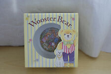 ROYAL WORCESTER WOOSTER BEAR Oatmeal Cerial Bowl NEW in box
