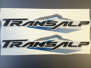 Details Zu Honda Transalp Abziehbilder Seite Transalp Aufkleber 00 07