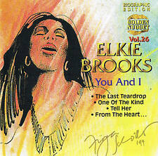 "ELKIE BROOKS ""You And I"" CD 10 Tracks Neu & OVP Cosmus DSB"
