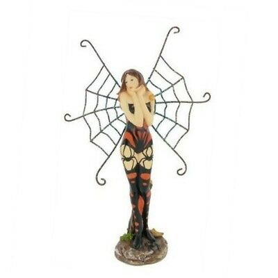 SPIDER FAIRY STANDING WITH TATOO FAERIES GIFT NEW FANTASY GOTHIC By Fiesta