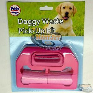 Dog Doggy Waste Puppy Mess Waste Poo Poop Clean Pick Up Scoop Dispenser Bag Roll