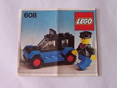 Accurato Lego ® Recipe/instruction N. 608-mostra Il Titolo Originale Beneficiale Per Lo Sperma