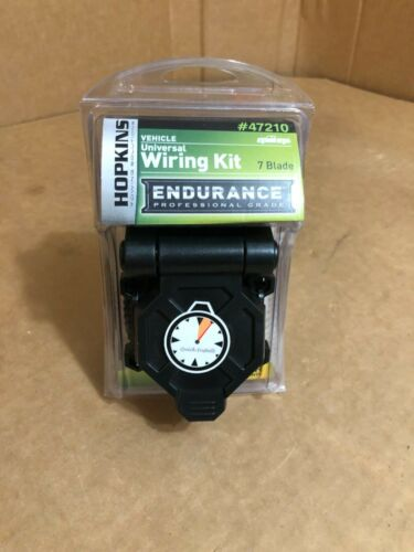 Hopkins Towing Solution 47210-7 Blade Wiring Connector for Trailer Plug ~